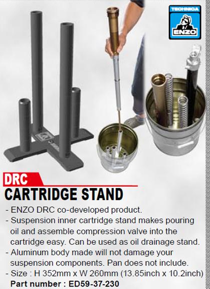 DRC ED59-37-230 Enzo cartridge suspension fork fork Stand